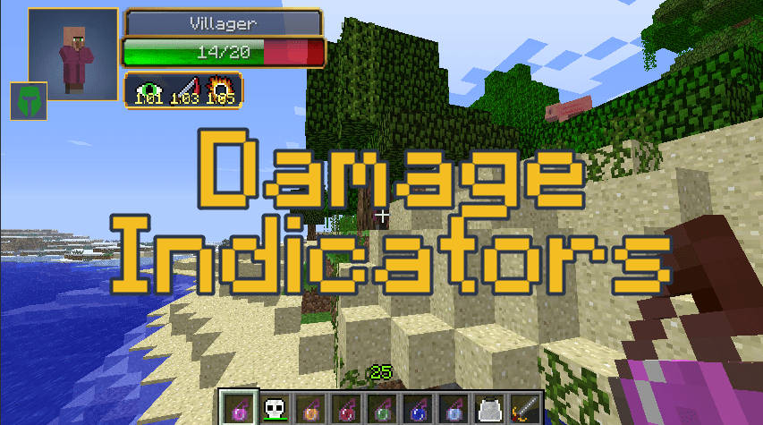 Damage Indicators скачать
