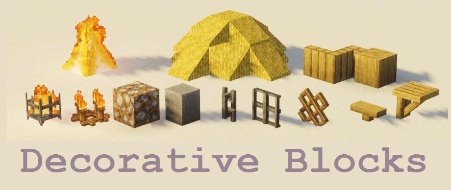 Decorative Blocks [1.16.5] [1.15.2] [1.14.4] (Мод на декоративные блоки) 2